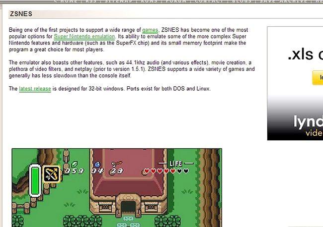 Hoe een emulator en de roms te gebruiken
