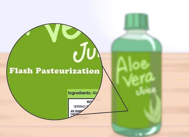 Titel afbeelding Gebruik Aloe Vera om zure reflux te behandelen Stap 4