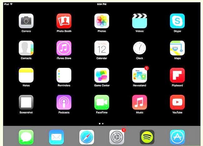 Titel afbeelding Use an iPad Step 3