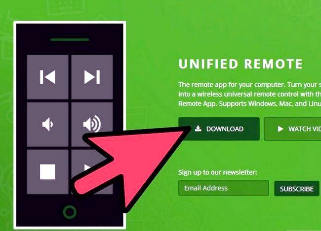 Unified Remote gebruiken op Android