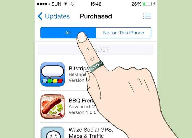 Titel afbeelding Gekopieerde apps weergeven in iOS Stap 4