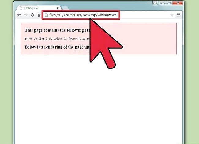 Titel afbeelding View XML Files Step 3