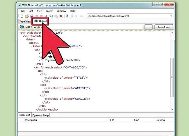 Titel afbeelding View XML Files Step 9