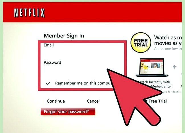 Titel afbeelding Watch Movies Online met Netflix Step 3