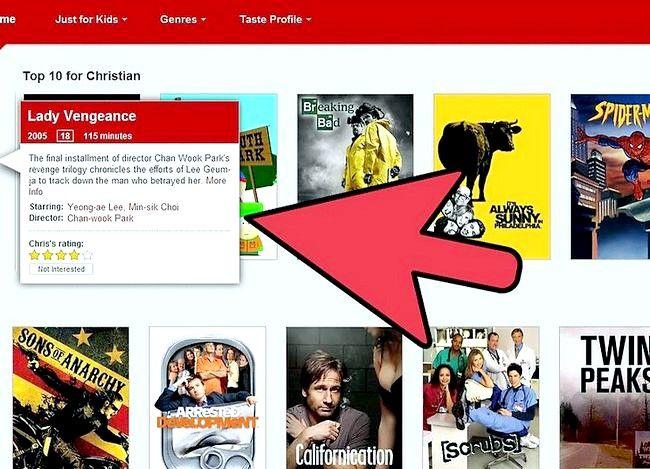 Titel afbeelding Watch Movies Online met Netflix Step 4