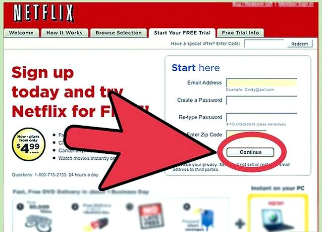 Titel afbeelding Watch Movies Online met Netflix Step 6