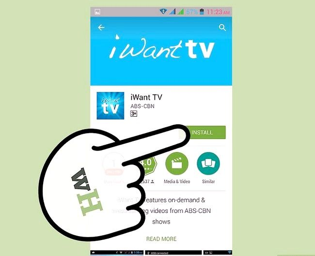 Titel afbeelding Watch TV on Android Step 14