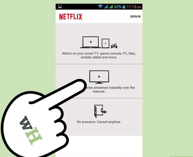 Titel afbeelding Watch TV on Android Step 9