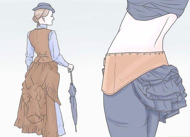 Titel afbeelding Dress Like a Woman in de 19e eeuw Stap 4