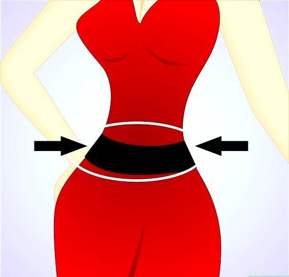 Titel afbeelding Emphasize waistline Step 2